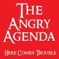 "THE ANGRY AGENDA: ""Here Comes Trouble"" 12"" LP"