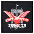 "COCK SPARRER ""Brooklyn Belongs To Me"" Patch"