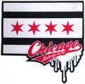 "COCK SPARRER ""Chicago Belongs To Me"" Woven Patch"