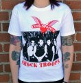 "COCK SPARRER: ""Shock Troops"" T-SHIRT (w/ Tour Dates!)"