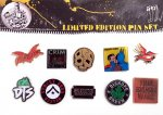 PIRATES PRESS RECORDS LIMITED EDITION PIN SETS