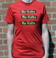 "THE RE-VOLTS ""Logo 3X"": T-Shirt"