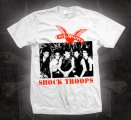 "COCK SPARRER: ""Shock Troops"" T-SHIRT"