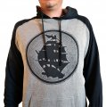 Pirates Press Logo Pull-Over 2-Tone Hoodie