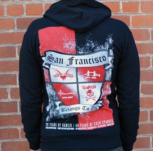 rancid zip hoodie